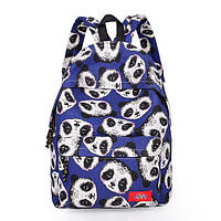 Синий городской рюкзак Панды, фото 1