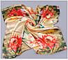 Цветочный шифоновый платок
