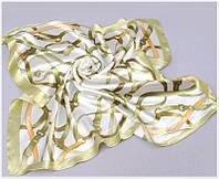 Полосатый шифоновый платок, фото 1