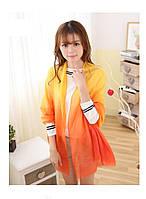Оранжевый шарф Градиент, фото 1