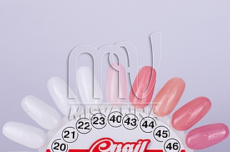 Гель My Nail 15 ml однофазный камуфлирующий средней консистенции темно-розовый №43, фото 3