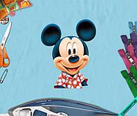 Аппликация, наклейка на ткань Mickey Mouse [7 размеров в ассортименте]