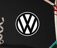 Аппликация, наклейка на ткань Volkswagen [7 размеров в ассортименте]