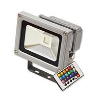 Светодиодный прожектор 10W Feron LL-180 RGB