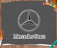 Аппликация, наклейка на ткань Mercedes-Benz [7 размеров в ассортименте]