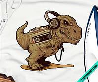 Наклейка на ткань Динозавр [7 размеров в ассортименте]
