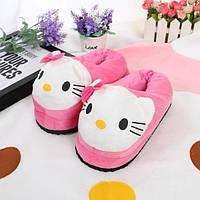 Женские тапочки игрушки Hello Kitty