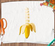 Картинки для бизнеса на жакеты Банан [7 размеров в ассортименте]