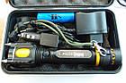 Фонарь с шипами Police LX855 T6 , фото 2