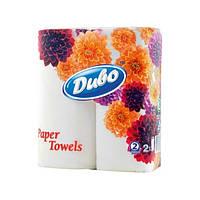 Бумажные полотенца Диво 2рул/уп*20