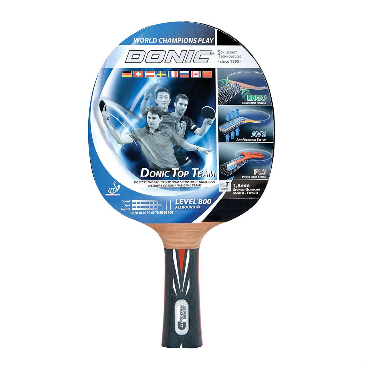 Ракетка для пинг-понга Donic Top Teams 800 (754198)