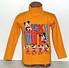 """Детский джемпер """"Микки Маус"""" для мальчиков 4,5,6,7,8 лет 100% хлопок.Детская одежда оптом"""