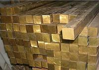 Квадрат бронзовый из сплавов БрАЖ9-4, БрОЦС5-5-5, БрОФ10.1