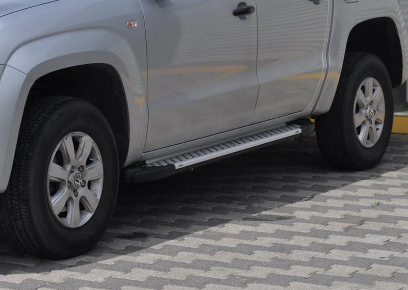 Боковые пороги VW Amarok (площадка Saphire)