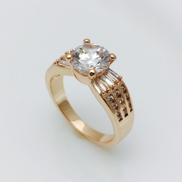 Кольцо перстень женский, размер 18