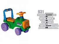 Детская каталка Беби трактор 931
