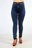 Классические женские джинсы  с завышенной талией