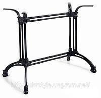 Основание (база) для стола ЗИНГЕР, h-720; база для стола, подстолья для столешницы, опора под столешницу