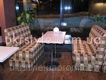 Диван для кафе №1; диван индивидуальный для кафе, мягкая мебель для кафе, диваны под заказ для кафе