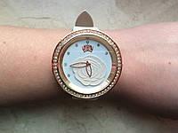 Женские Часы Geneva с розочкой