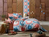 Качественное Двуспальное постельное белье Eponj Home ORNAMENT MINT SOMON SV10