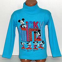 """Детский джемпер """"Микки Маус"""" для мальчиков 4,5,6,7,8 лет, 100% хлопок.Детская одежда оптом"""