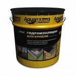 Гидроизоляция для кровли битумно-резиновая AquaMast (18 кг)