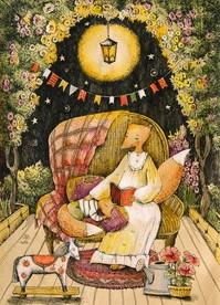 почтовая открытка любимая лошадкаcards for soul