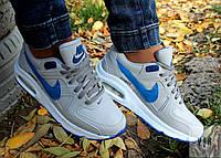 Кроссовки Nike airmax синие