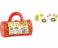 Набор посуды Ecoiffier в сумочке (000982)