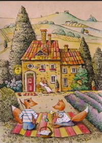 почтовая открытка Сиеста cards for soul