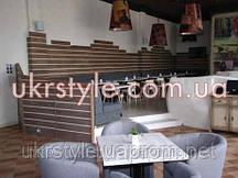 Настенные панели, для ресторана из массива дерева