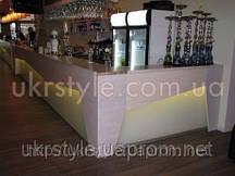 Барная стойка (для ресторана из массива дерева №1)