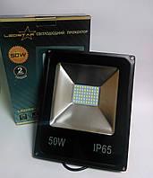 Светодиодный прожектор 50W STANDART серия SMD slim 6500K 3250lm