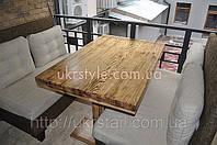 Столешница деревянная для ресторана №1