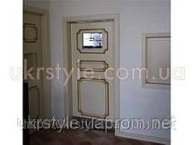 Двери-ковбойка, для ресторана из массива дерева
