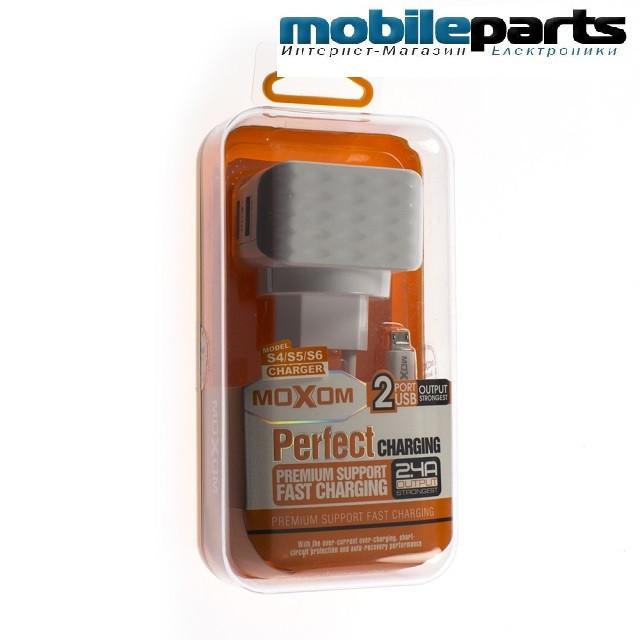 Сетевое зарядное устройство MOXOM KH-19Y MICRO