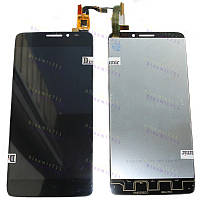 Оригинальный ЛСД экран и Тачскрин сенсор Alcatel one touch idol x 6040D, TCL S950 модуль