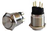 Кнопка металлическая TYJ 22-221 (1NO+1NC)