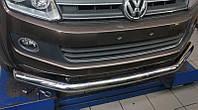 Защита переднего бампера Volkswagen Amarok (одинарная) d76