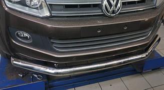 Захист переднього бампера Volkswagen Amarok (одинарна) d76