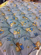 Ковдра дитяча шерстяна голд 110*140 бавовна (2899) TM KRISPOL Україна, фото 2