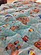 Ковдра дитяча шерстяна голд 110*140 бавовна (2899) TM KRISPOL Україна, фото 4
