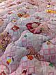 Ковдра дитяча шерстяна голд 110*140 бавовна (2899) TM KRISPOL Україна, фото 5
