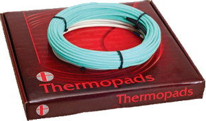 Нагревательный кабель для теплого пола   Thermopads FHCT - 17W/900 на 5,5-7 м²