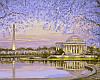 Картины по номерам 40×50 см. Весеннее цветение Художник Роберт Файнэл
