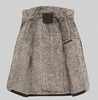 Мужская зимняя дубленка. Мужское пальто. Модель 611, фото 3