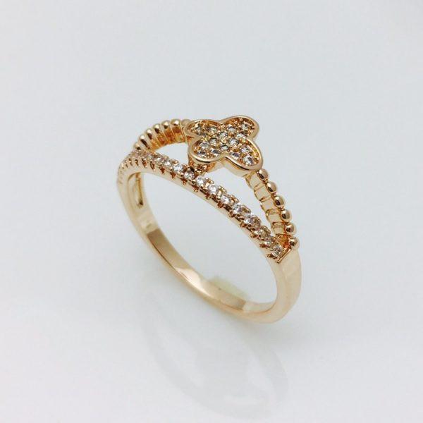 Кольцо с крестиком, размер 16, 19