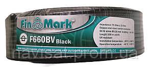 Коаксиальный кабель FinMark F660BV Черный (Бухта 100м)