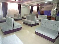 Комплекты мягкой мебели для кафе, баров, ресторанов под заказ